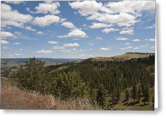 Digital Photography Greeting Cards - Eastern Oregon Greeting Card by Gary Grayson