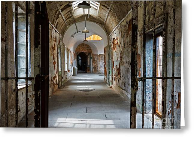 Eastern State Greeting Cards - Eastern State Penitentiary 11 Greeting Card by Jack Paolini