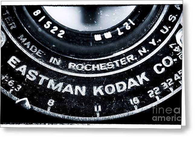 Rochester Artist Greeting Cards - Eastman Kodak Co Greeting Card by John Rizzuto