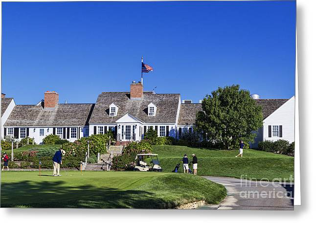Chatham Greeting Cards - Eastward Ho Golf Course Greeting Card by John Greim