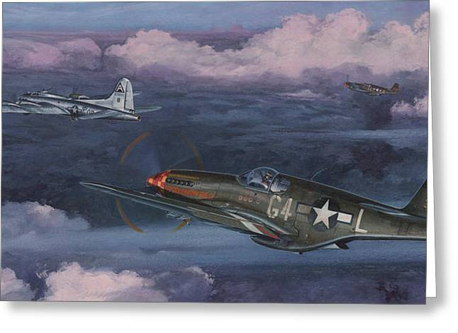 Spitfire Greeting Cards - Easy Big Friend Greeting Card by Wade Meyers