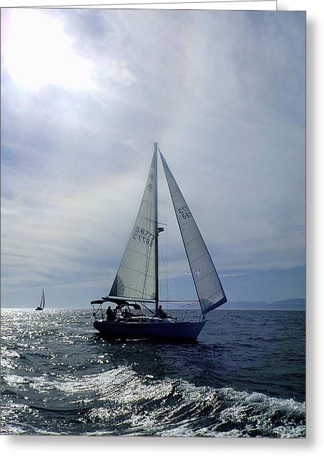 My Ocean Greeting Cards - Easy Breezy Greeting Card by My Lens and Eye   - Judy Mullan -