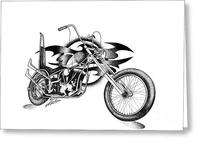 Valuable Drawings Greeting Cards - Easy Rider fantasy Greeting Card by Joker  Gallery