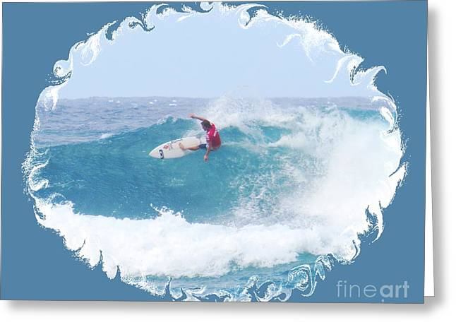 Surfing Photos Greeting Cards - Easy Rider Greeting Card by Scott Cameron