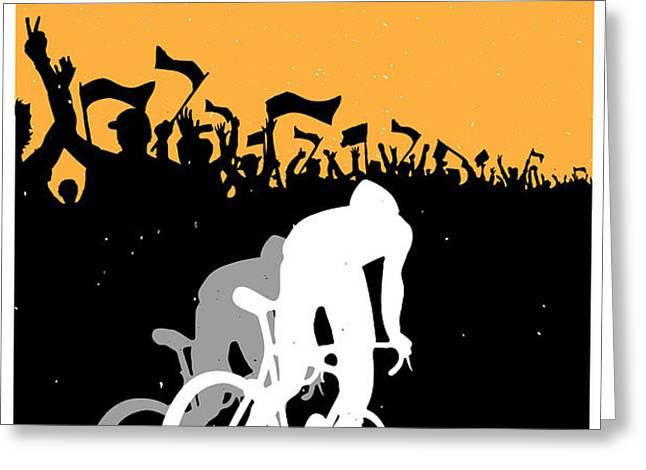 Eat Sleep Ride Repeat Greeting Card by Sassan Filsoof