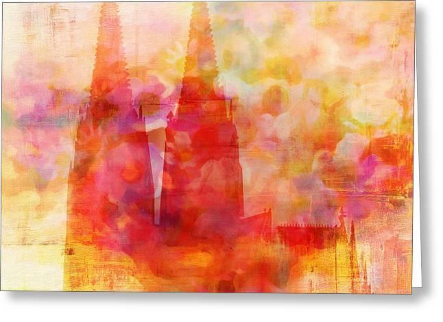 Fragrance Greeting Cards - Eau de Cologne Greeting Card by Lutz Baar