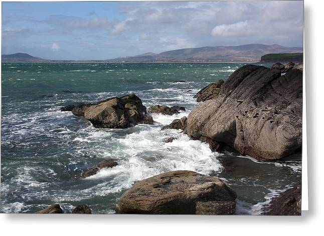 Seascape Images Greeting Cards - Ebb And Flow  Greeting Card by Aidan Moran