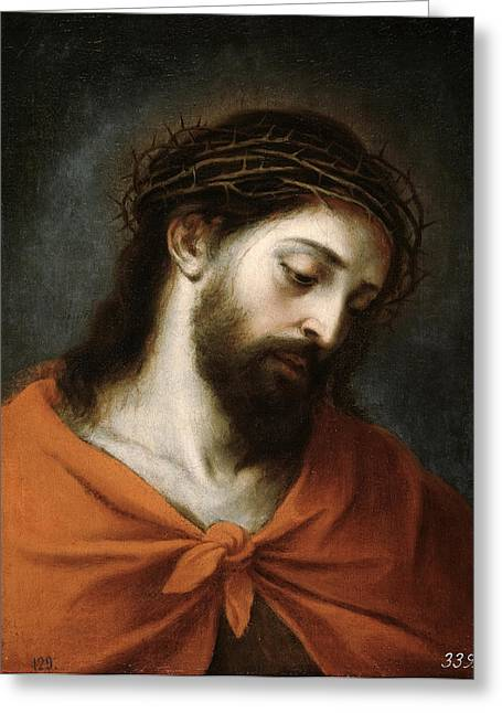 Ecce Paintings Greeting Cards - Ecce Homo Greeting Card by Bartolome Esteban Murillo