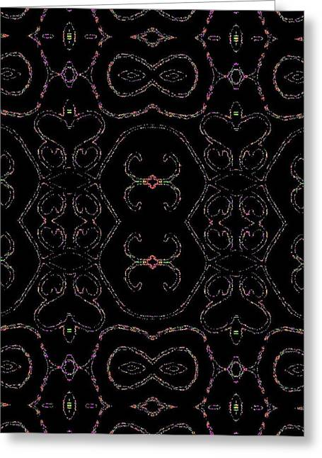 Abstract Digital Greeting Cards - Eccentric Currents Greeting Card by Roy Hummel