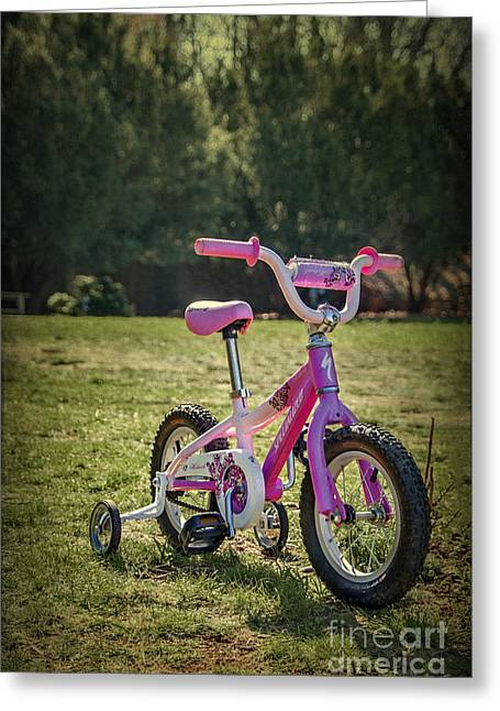 Tricycle Greeting Cards - Echoes Of Childhood Greeting Card by Evelina Kremsdorf