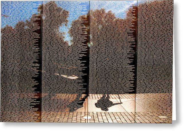 Arlington Greeting Cards - Echoing Forever Greeting Card by Greg Fortier