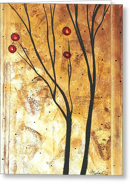 Abstract Style Greeting Cards - Eclectic Dream Original Painting MADART Greeting Card by Megan Duncanson