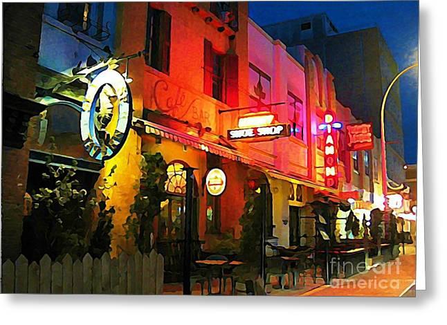 Halifax Photographs Greeting Cards - Economy Shoe Shop Halifax Greeting Card by John Malone