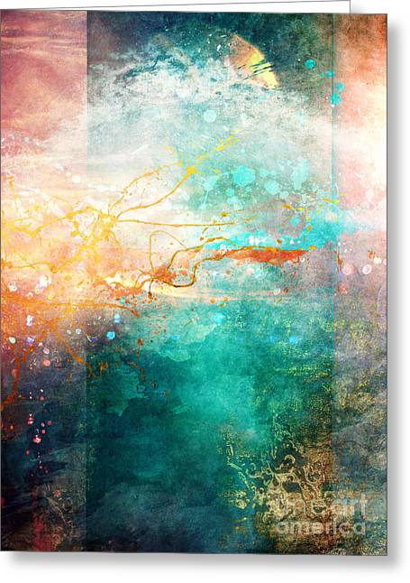 Transparency Greeting Cards - Ecstatic Greeting Card by Aimee Stewart