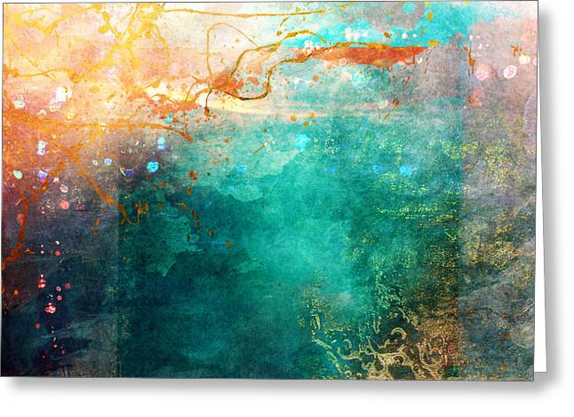 Digital Media Greeting Cards - Ecstatic Variant 1 Greeting Card by Aimee Stewart