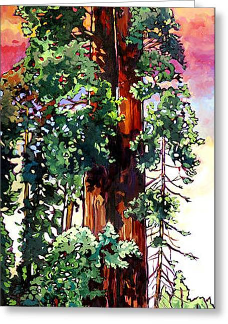 Kings Canyon National Park Greeting Cards - Ed by Ned Greeting Card by Nadi Spencer