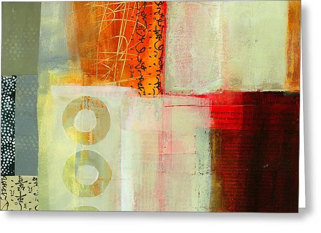 Acrylic Greeting Cards - Edge Location 6 Greeting Card by Jane Davies