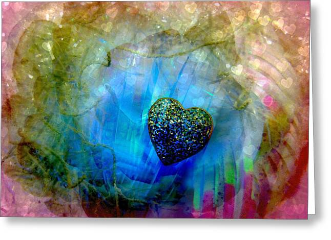 Locket Greeting Cards - Edge of a Dream Greeting Card by Shirley Sirois