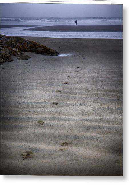 Pacific Ocean Prints Greeting Cards - Edge of the Ocean Greeting Card by Naman Imagery