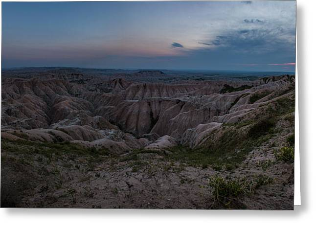Badlands National Park Greeting Cards - Edge of the World Greeting Card by Aaron J Groen