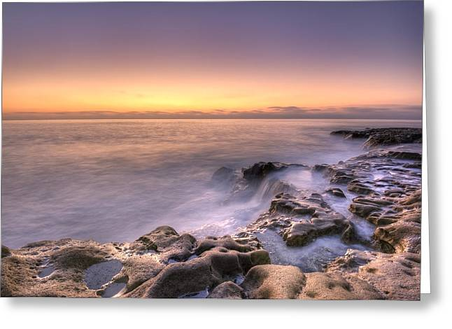 California Beach Greeting Cards - Edge of the World Greeting Card by Anthony Citro