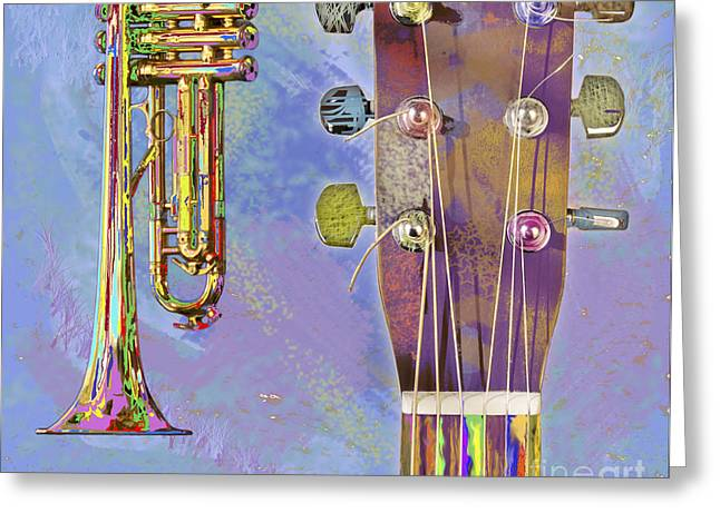 Dappled Light Greeting Cards - Edible Instruments Greeting Card by Gordon Wood