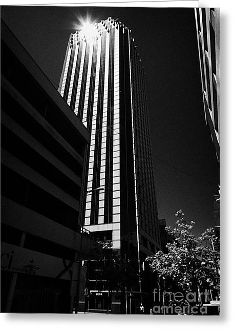 Edificios Greeting Cards - edificio torre centenario tower building Santiago Chile Greeting Card by Joe Fox