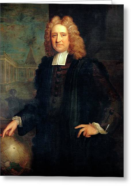 Edmond Halley Greeting Card by Bodleian Museum/oxford University Images