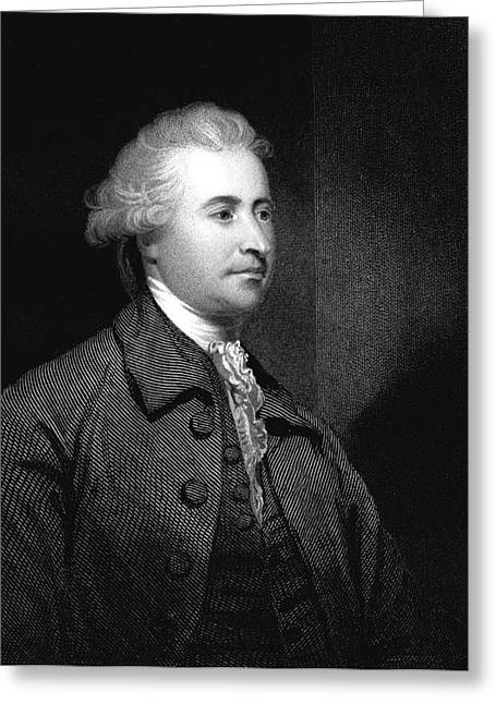 Edmund Burke Greeting Card by Collection Abecasis