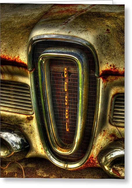 Thomas Young Greeting Cards - Edsel As Is Greeting Card by Thomas Young