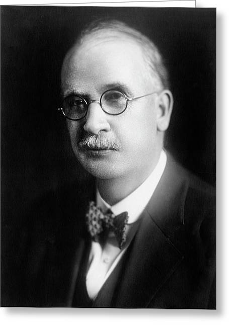Edward Bartow Greeting Card by Chemical Heritage Foundation
