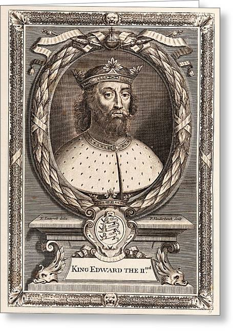 Edward II Greeting Card by Middle Temple Library