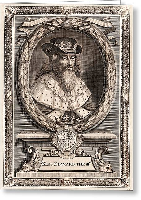 Edward IIi Greeting Card by Middle Temple Library