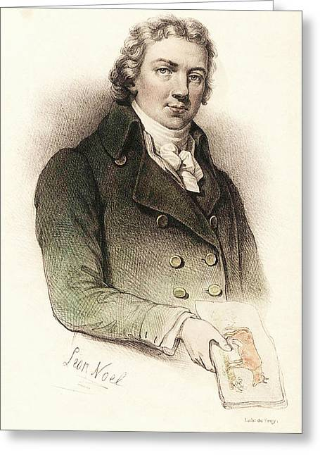 Edward Jenner Greeting Card by National Library Of Medicine