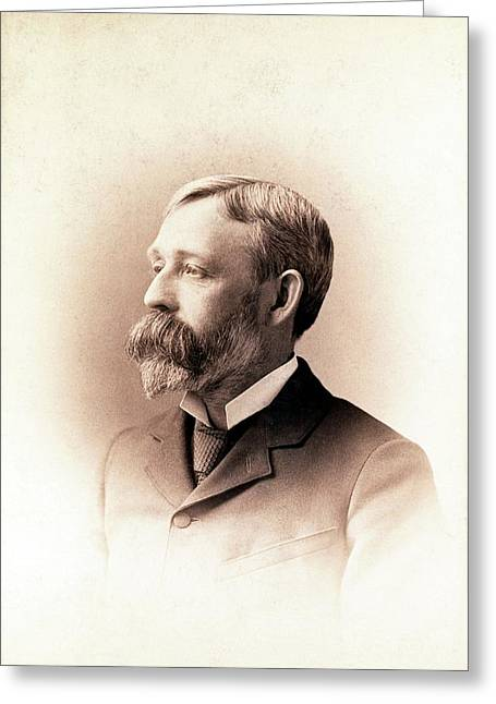 Edward Laurens Mark Greeting Card by American Philosophical Society