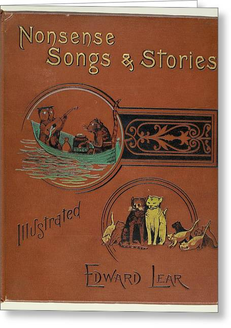Edward Lear's Nonsense Songs And Stories Greeting Card by British Library