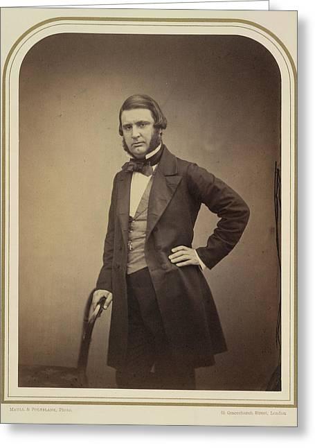 Edward Matthew Ward Greeting Card by British Library