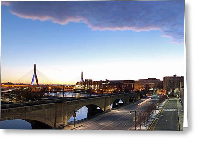 Charles River Greeting Cards - EF Education First Headquarter Greeting Card by Juergen Roth