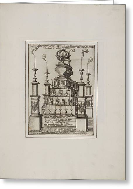 Effigy And Statue Greeting Card by British Library