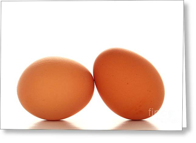 Fresh Eggs Greeting Cards - Eggs Greeting Card by Olivier Le Queinec