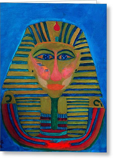 Artprint Greeting Cards - Egypt Ancient  Greeting Card by Colette V Hera  Guggenheim