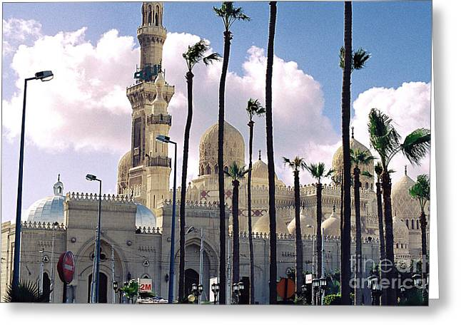 Odalisque Photographs Greeting Cards - Egyptian Mosque Greeting Card by Cassandra Buckley