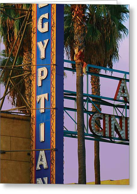 Egyptian Theatre Greeting Cards - Egyptian Theatre Greeting Card by Bill Jonas