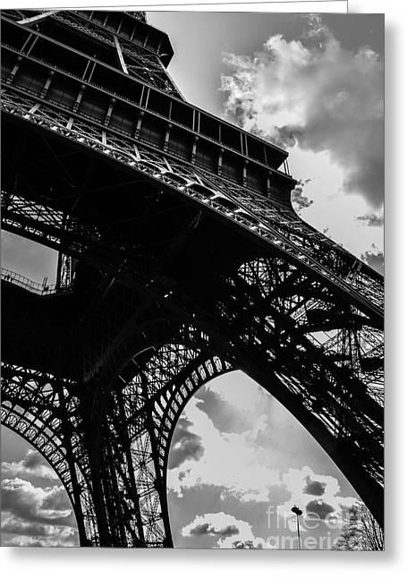 Eifel-tower Greeting Cards - Eifel Tower Greeting Card by Jason Rosenberg
