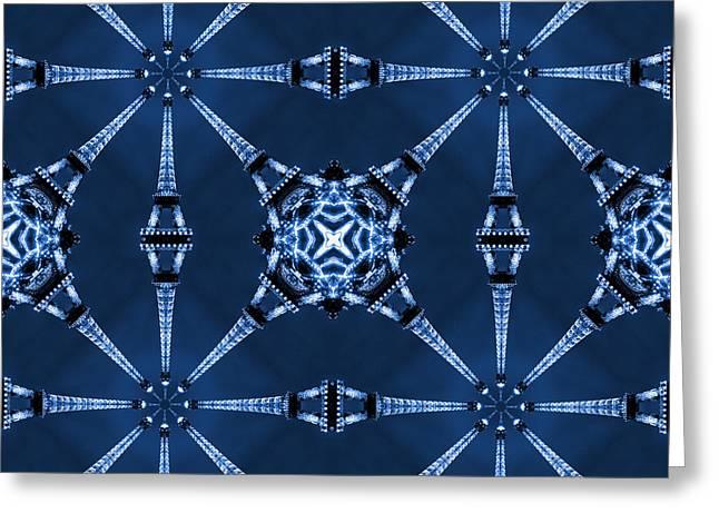 Eiffel Art 18 Greeting Card by Mike McGlothlen