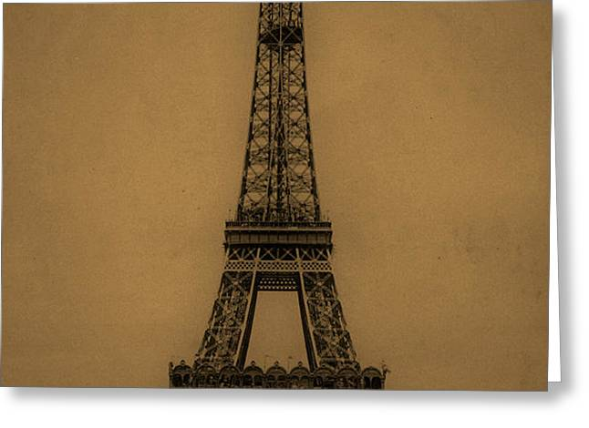 Eiffel Tower 1889 Greeting Card by Andrew Fare