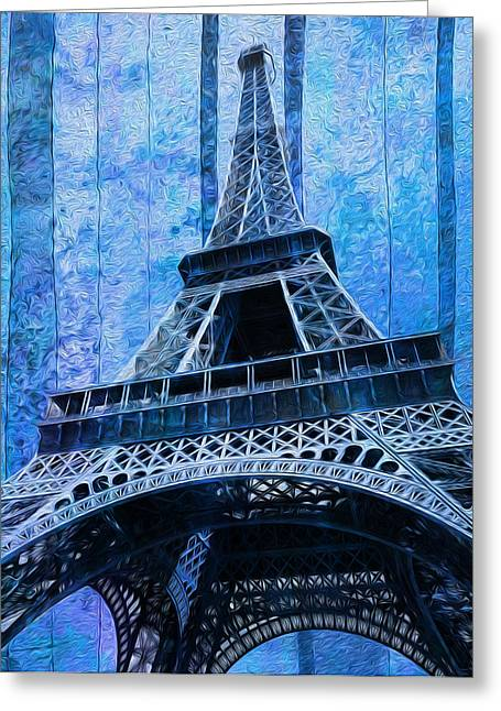 Most Greeting Cards - Eiffel Tower 2 Greeting Card by Jack Zulli
