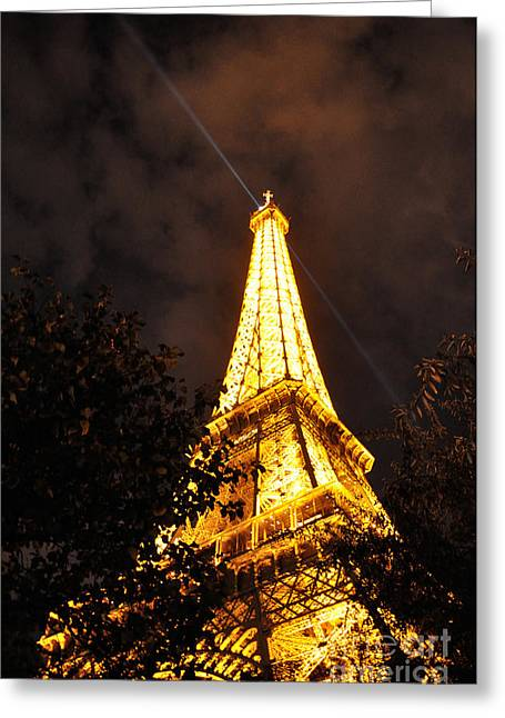 Must Have Greeting Cards - Eiffel Tower  Greeting Card by Aleksey Lavochin