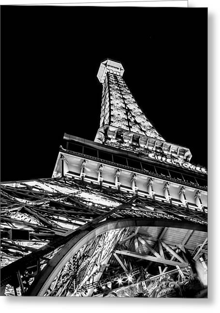 Eiffel Tower Greeting Cards - Industrial Romance Greeting Card by Az Jackson