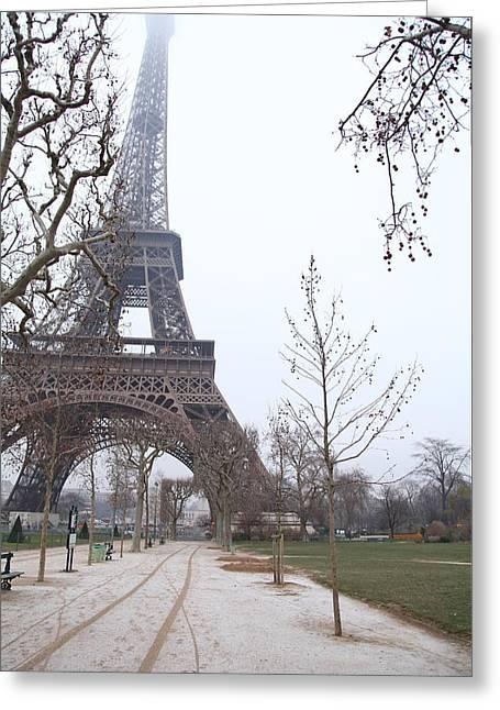 Eifeltower Greeting Cards - Eiffel Tower - Paris France - 011316 Greeting Card by DC Photographer